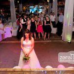 Hochzeitsfeier, Brautstraußwerfen