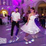 Hochzeitstanz, Teil II: Ein Jive im Hochzeits-Petticoat
